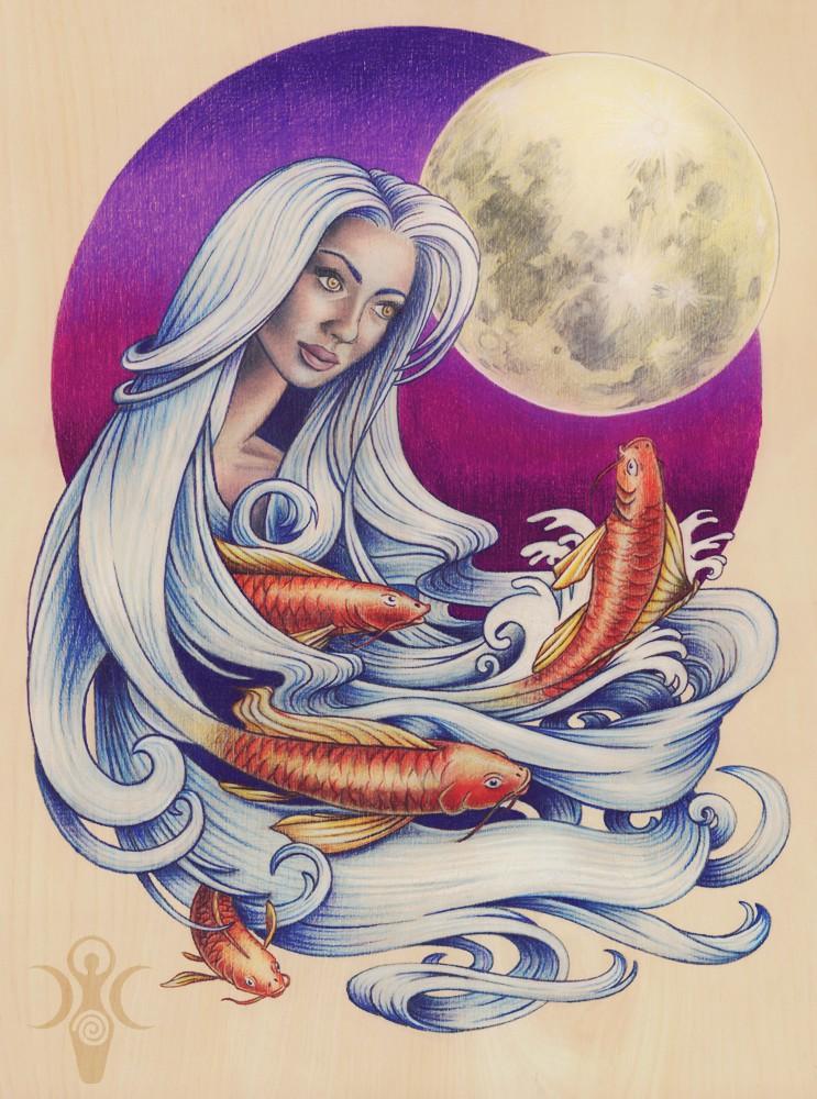 S-Original-Art-Moon-Fish lauren yurkovich